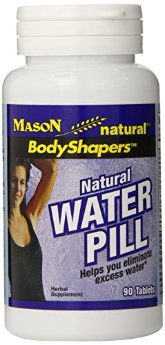 Les comprimés de pilules Mason vitamines eau naturelle, 90 comte bouteille (pack de 3)