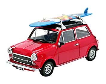 Welly 22496sbr – Mini Cooper – 1959 – con tabla de surf – Escala 1/