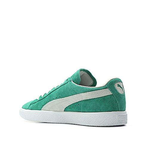 Puma Heren Suede - 90e Verjaardag (groen / Kelly / Wit) Groen / Kelly / Wit