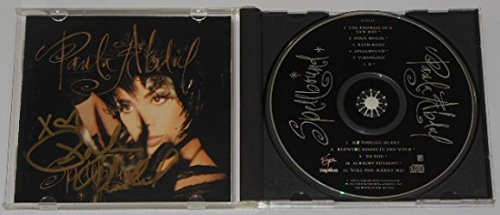 Paula Abdul Spellbound Authentic Signed Autographed Music Cd Compact Disc Loa