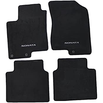 Good Genuine Hyundai Accessories 08140 3K210HZ Black Front Carpeted Floor Mat  For Hyundai Sonata