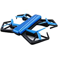 MuLuo H43WH Blue Foldable Arms 720P HD Camera WIFI Drone Altitude Hold RC Quadcopter Helicopter Toy