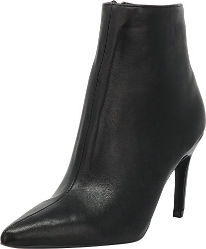 High Pointed Heel Stiletto (Cambridge Select Women's Closed Pointed Toe Stiletto High Heel Ankle Bootie (10 B(M) US, Black PU))