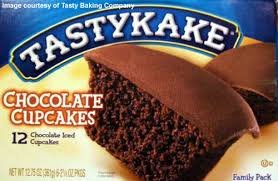 Tastykake Chocolate Cupcakes - Four Family Packs by Tastykake -