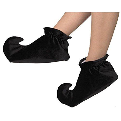 (Child's Black Jester Shoes Size)