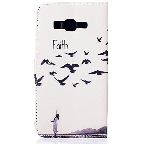 aeeque se, iPhone 5/5S/5C/6/6S (Plus), Samsung Galaxy S3/S4/S5/S6/S6Edge/S6Edge Plus/J5/Note 5/S7/S7edge/G360/G530/i9060, Sony Xperia M4/Z5/Z5mini, Huawei P8Lite elegante dibujo pintura patrón f Faith Kids