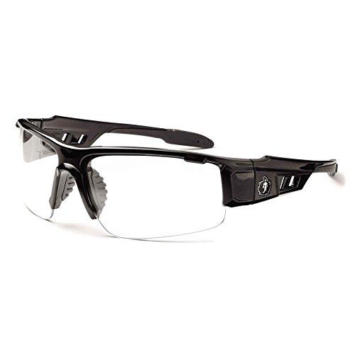Ergodyne Skullerz Anti Fog Safety Glasses Black