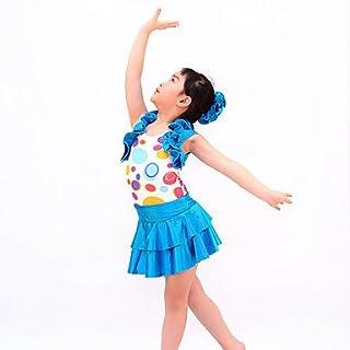 Dancewear Costumi da Ragazza PON PON Completi per Bambini da esibizione Elastene/Paillettes Cristalli/Strass/Paillette/Ruches 3 pezziSenza