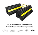 Rubber RV Leveling Blocks Dual Wheel Chocks Front
