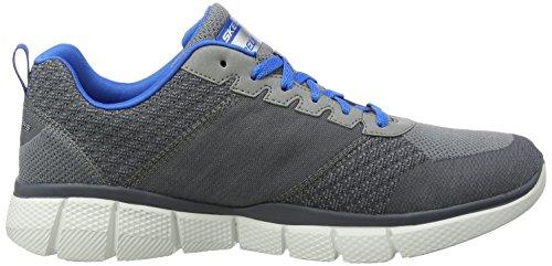 Skechers Sport Herren Equalizer 2.0 True Balance Sneaker Grau Blau