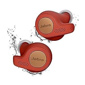 Jabra Elite Active 65t True Wireless Earbuds & Charging Case - Copper Red