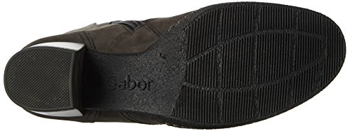 Gabor Comfort Basic, Stivali Donna Grigio (Dkgreys.s/A.f/Mi)