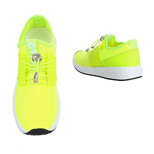 Ital-Design - Cerrado Mujer Neongrün 499-Y