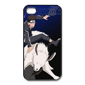 iphone4 4s Phone Case Black Inuzuka Kiba UYUI6794963