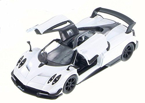 KiNSMART 2016 Pagani Huayra BC 5400D - 1/38 Scale Diecast Model Toy Car but NO Box (White)