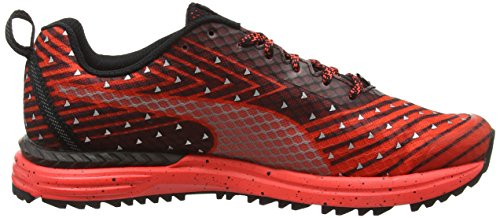 Puma Speed300igntrf6, Zapatillas de Deporte Exterior Unisex Adulto Rojo (Red/Blk/Sil 01Red/Blk/Sil 01)