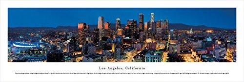 (Blakeway Worldwide Panoramas Los Angeles, California at Dusk - Blakeway Panoramas Unframed Skyline Posters,)