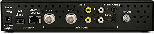 Contemporary Research 5095-001 QMOD-SDI 2 HDTV Modulator/IPTV Encoder by Contemporary Research