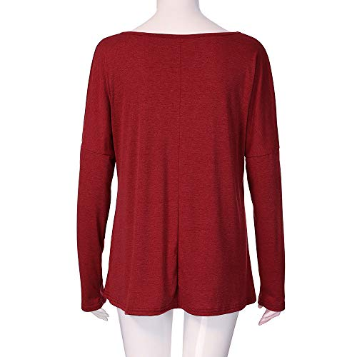 Theshy Red Chemisier Femme Red Femme Chemisier Theshy Theshy Chemisier S8rxS1