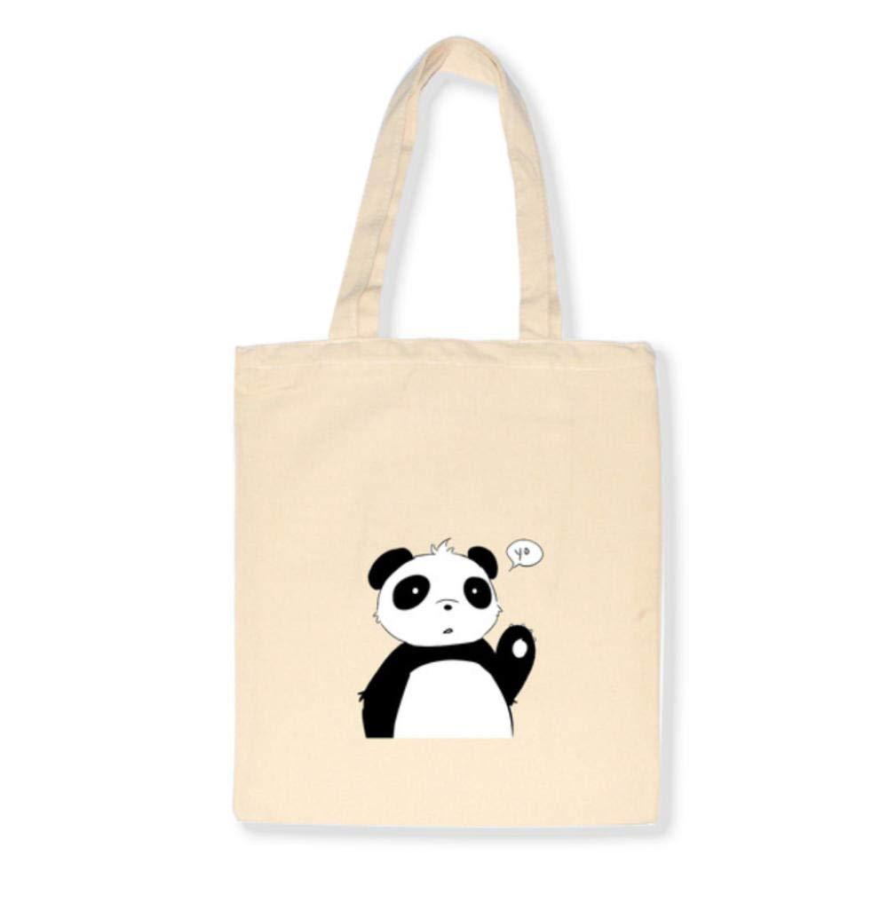 Zshhy Enkel Kvinnor Paket Canvas Väska Handväskor Japanska Axelväskor Vardaglig Shopping-D_35 x 40 cm D
