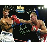 $50 » Signed Micky Ward Photo - 8x10 - Autographed Boxing Photos