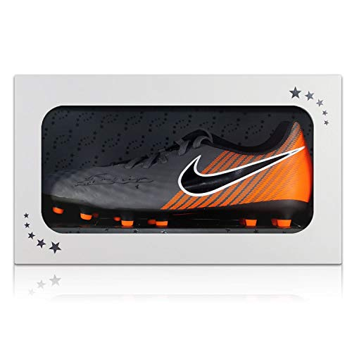 Andres Iniesta Signed Magista Soccer Shoe In Gift Box | Autographed Football Boot Cleat ()