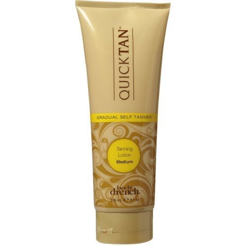 Body Drench Quick Tan Gradual Tanning Lotion, Medium, 8 Ounc