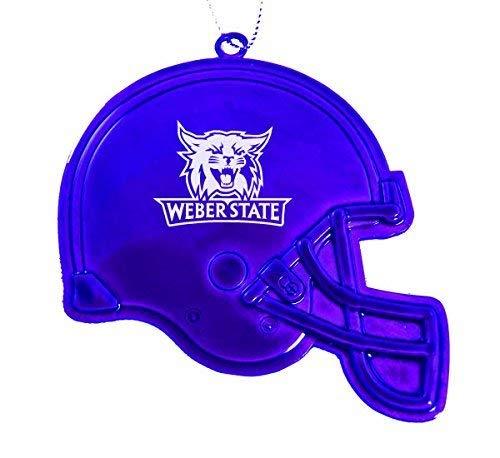 Weber State University - Chirstmas Holiday Football Helmet Ornament - - Weber State Football