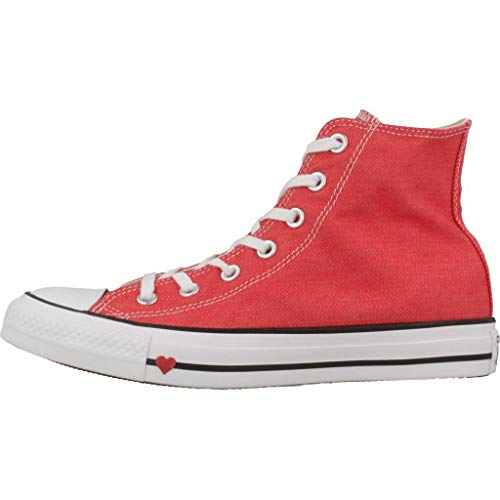 Zapatillas Barely Converse Rojo Hi Altas Rose Ctas Unisex red Adulto PwPvnHxBIq