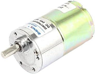 Sourcingmap® DC 24 V 120TR/min caja velocidades caja cambios ...