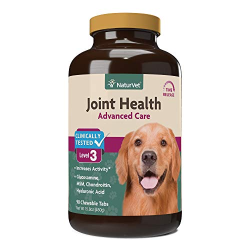 NaturVet Joint Health Time Release Level-3 Supreme Hip & Joint Dog Supplement