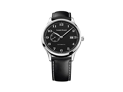Louis Erard 1931 Collection Swiss Automatic Black Dial Telemeter Men's Watch 71245NN12 black PVD