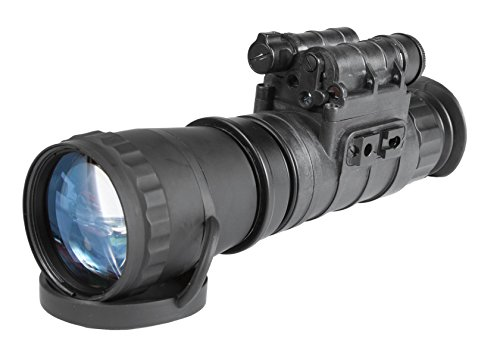 Armasight AVENGER GEN 2+ QS Quick Silver White Phosphor Night Vision Monocular with 3X Magnification, Black by Armasight
