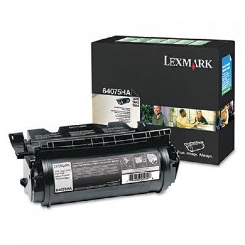 LEXMARK 64075HA / T64X BLACK HIGH YIELD TAA CARTRIDGE 21K RETURN - Toner Black 21k