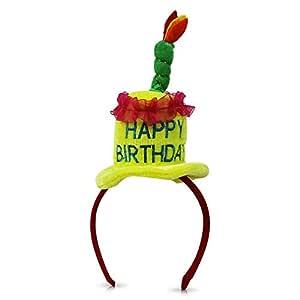 2 x Neumáticos de pelo Tiara Happy Birthday Cumpleaños pelo ...
