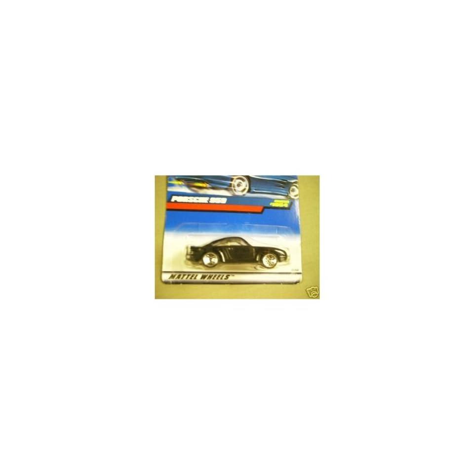Mattel Hot Wheels 1999 164 Scale Black Porsche 959 Die Cast Car Collector #1054