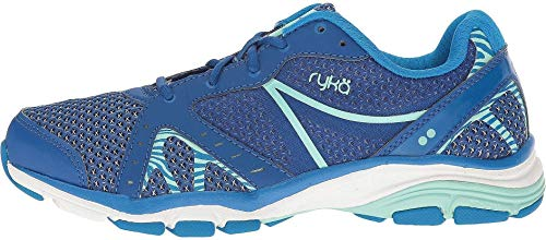 Ryka Women's vida RZX Cross-Trainer Shoe, Blue/Mint, 5.5 M US