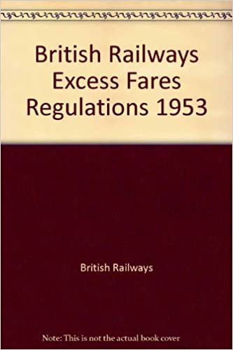 British Railways Excess Fares Regulations 1953