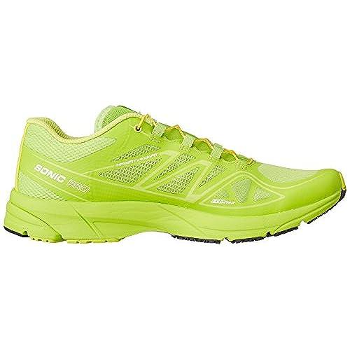 hot sale Salomon Men's Sonic Pro Running Shoe,Granny Green