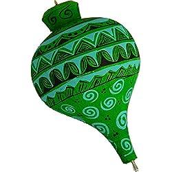 Trompo Alebrije (Madera de Copal) [Verde]