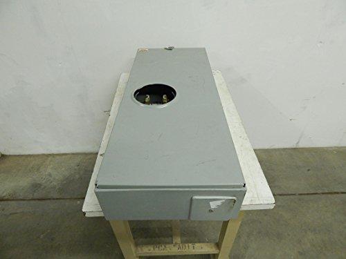 EATON CUTLER HAMMER UTH4330UCH 320A OFFSET RINGLESS METER SOCKET (Meter 320a Socket)