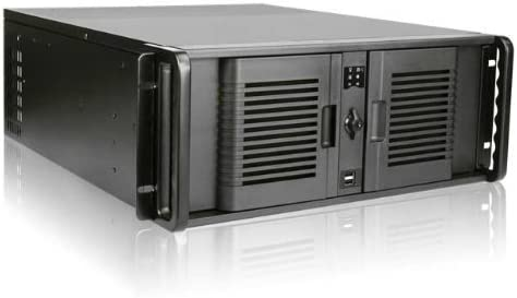 Power Supply Not Included Black iStarUSA D-400-7P 4U Compact Stylish Rackmount Chassis 104078A