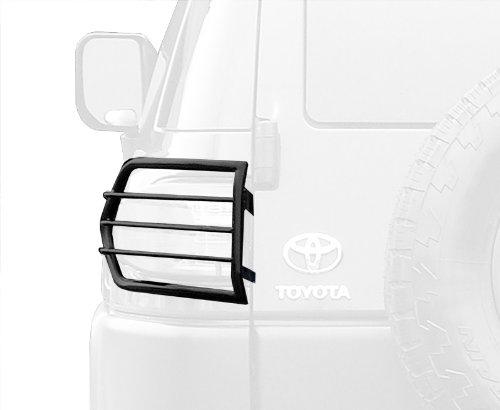 MaxMate Premium Custom Fit 07-15 Toyota Fj Cruiser 2pcs Black Taillight Covers Tail Light Guards (Mounting hardware & instruction included)