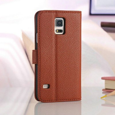 Amazon.com: Skuleer(TM)Fundas S5 Luxury PU Leather Case Book ...