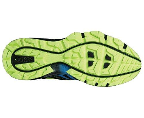 GRAYS Chaussure de hockey G 8000 Unisexe, Noir/Citron Vert, 47
