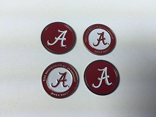 Alabama Crimson Tide Golf Ball Markers 4-Pack