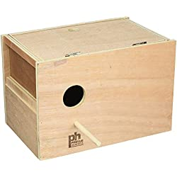 Prevue Pet Products BPV1105 Outside Mount Nest Box for Parakeet, Medium