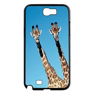 [MEIYING DIY CASE] For Samsung Galaxy Note 2 Case -Elephant Amimal-IKAI0446789