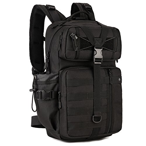 Aseun 30L Backpack Outdoor Attack Tactical Bag Riding Backpack Travelling Bag Mountaineering Bag