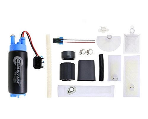 QFS-352FT - 340 LPH E85 / Ethanol Compatible Fuel Pump with Installation Kit (2000 Grand Marquis Fuel Pump)